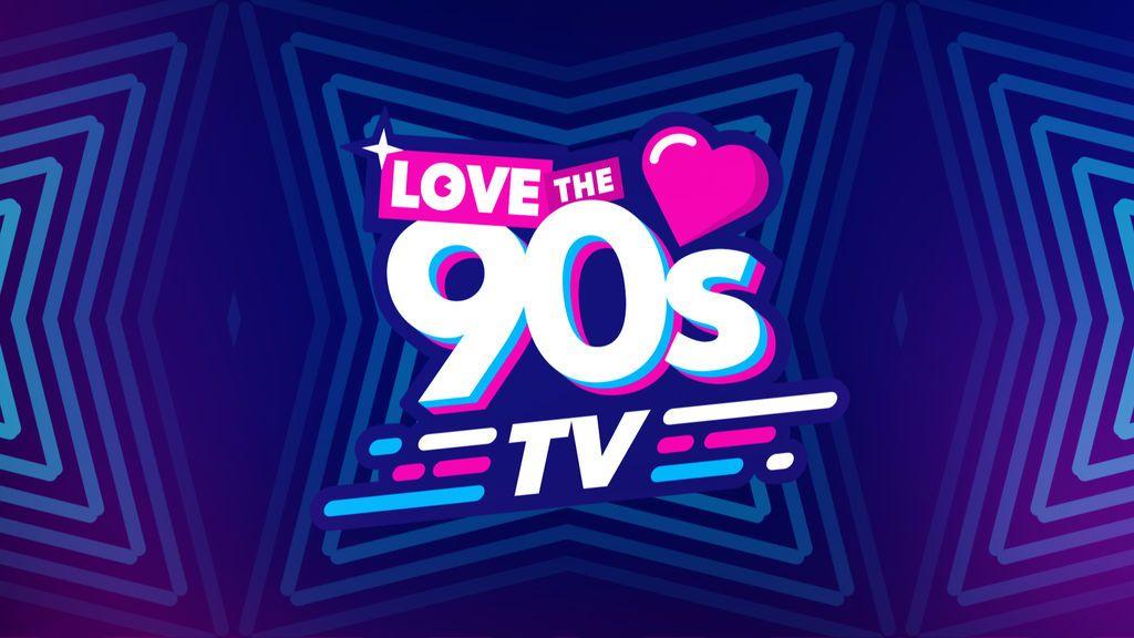 Logo de 'Love the 90s TV'.