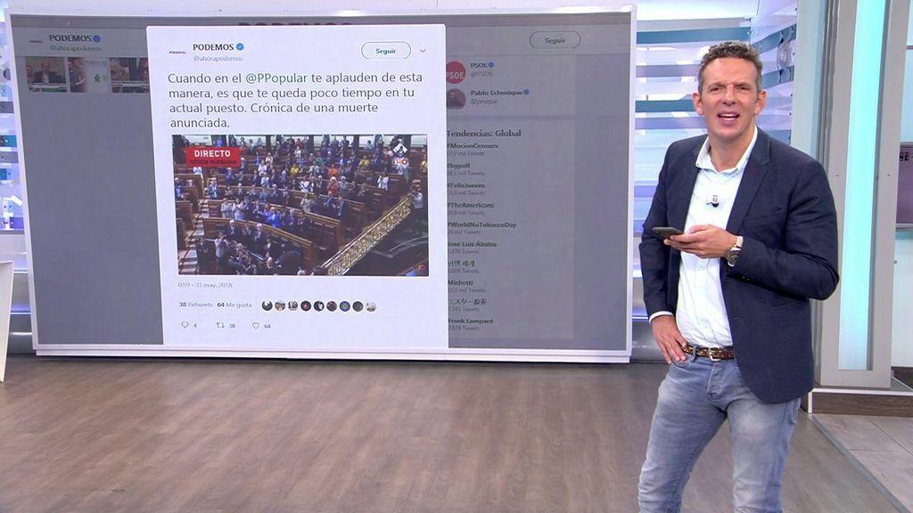 Moción de censura en redes sociales