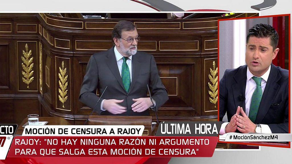 Mariano Rajoy y Alfonso Merlos, la misma corbata verde y dos esperanzas diferentes