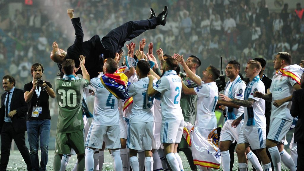 Tres Champions, una Liga, dos Mundiales de Clubes y tres Supercopas: El increíble palmarés de Zidane como entrenador