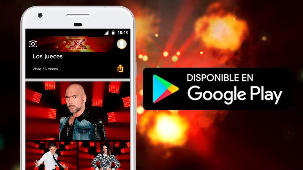 ¡'Factor X' estrena app oficial! - Android