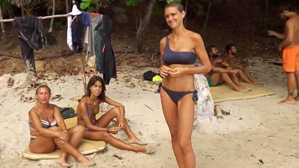 Raquel Mosquera, Sofía Suescun o María Jesús Ruiz, una de ellas se convertirá en la octava expulsada de 'Supervivientes 2018' .