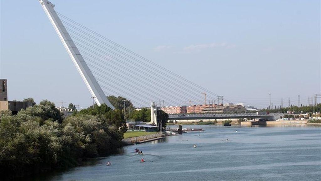 Fallece en Sevilla un adolescente de 14 años tras lanzarse al río y no lograr salir