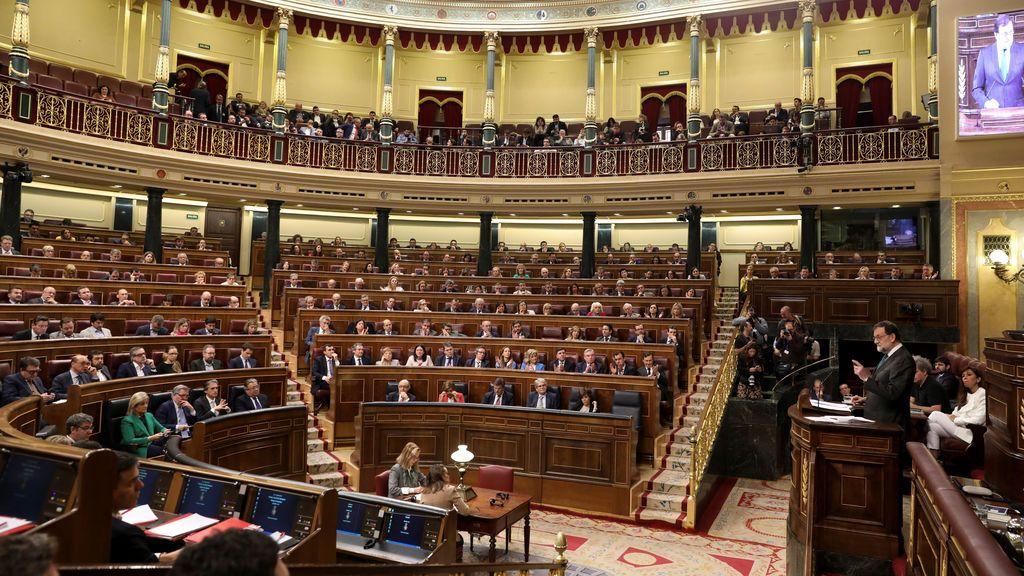 Moción de censura en el Congreso de los Diputados