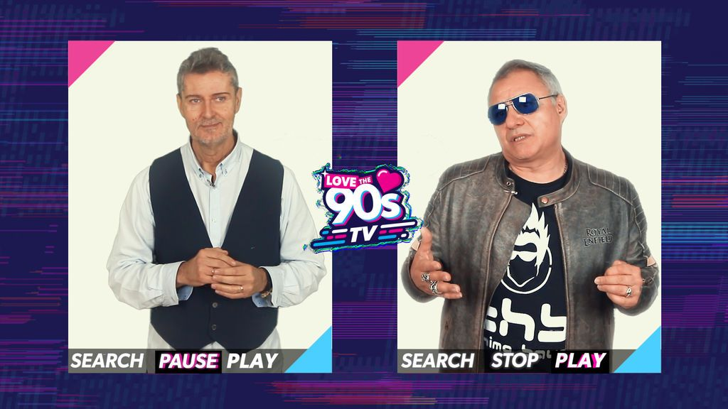'Love the 90's TV', la máquina del tiempo para viajar el pasado de la música y la televisión