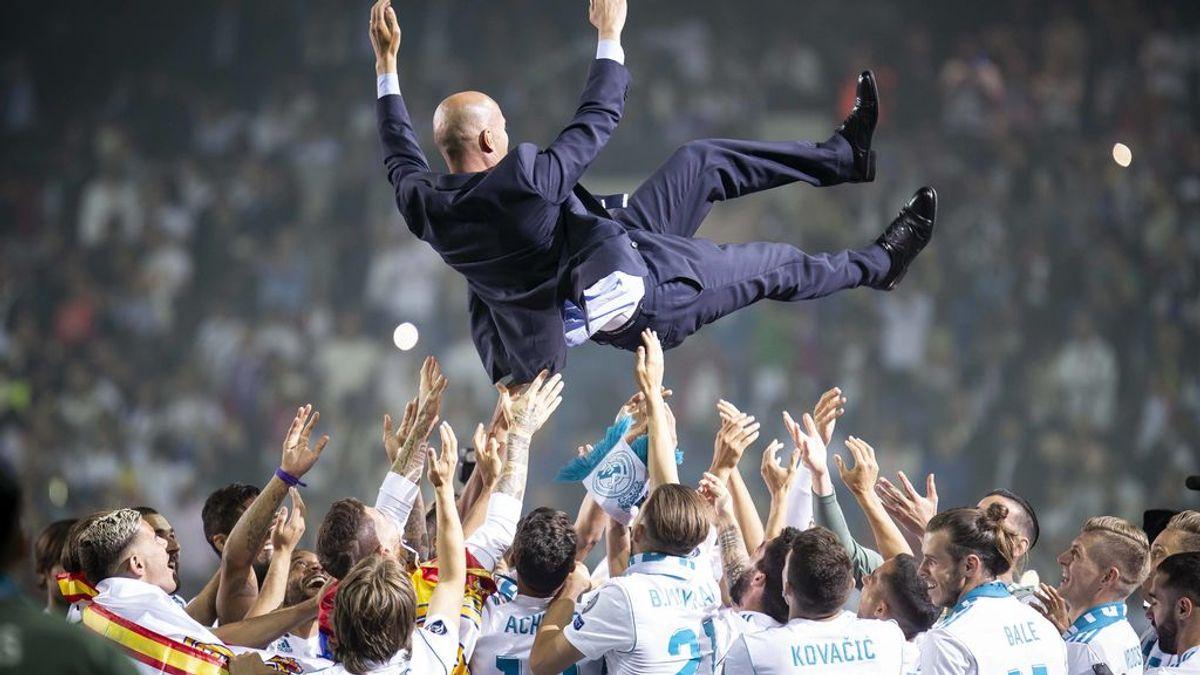 Los mensajes de despedida de los jugadores del Real Madrid tras la marcha de Zidane