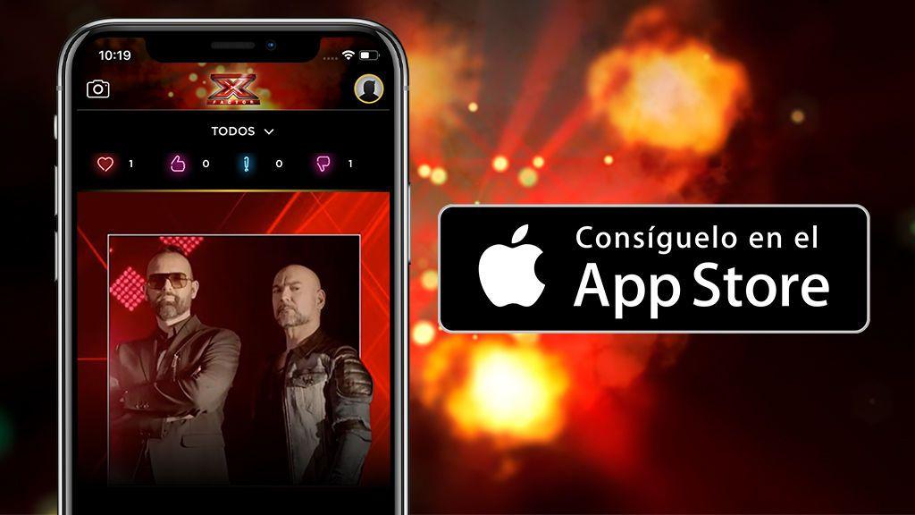 ¡'Factor X' estrena app oficial! - iOS