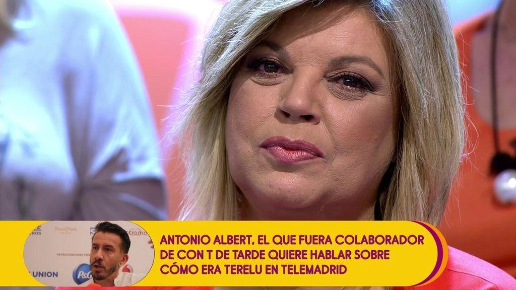 Antonio Albert, antiguo compañero de Terelu, defiende a la colaboradora ante las críticas sobre sus 'manías'