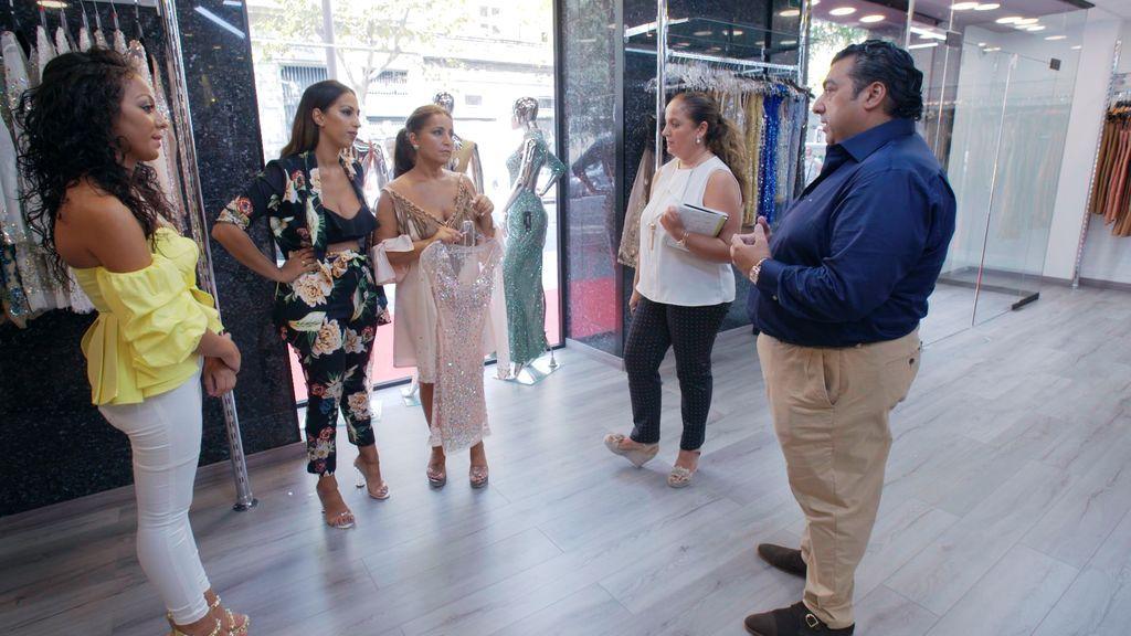 Las Salazar en 'Los gipsy kings'
