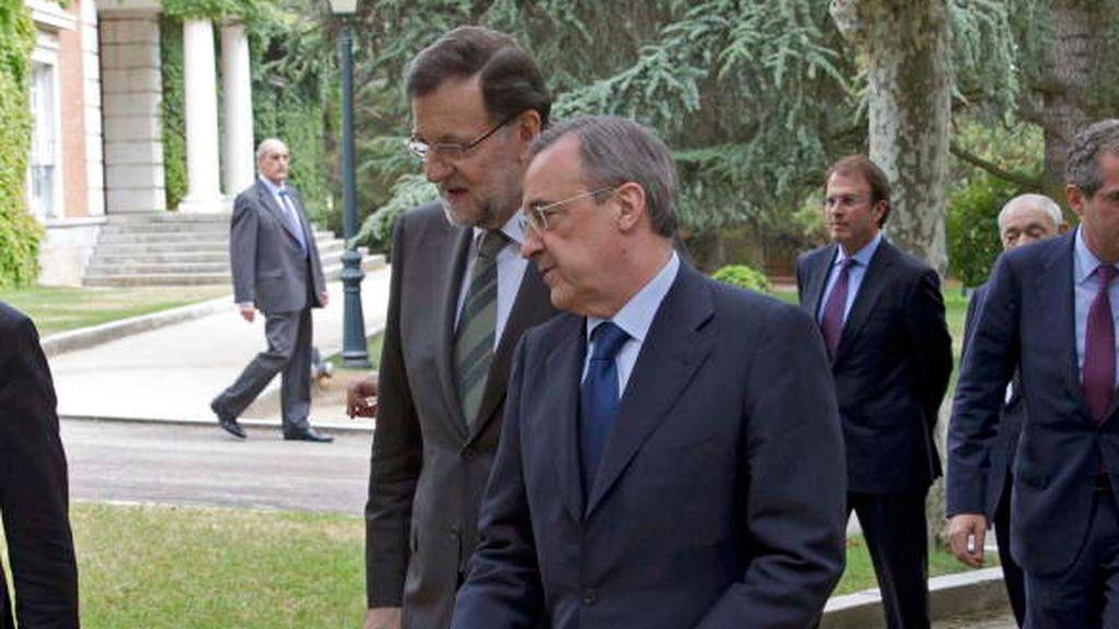 Las apuestas señalan a Rajoy como entrenador del Real Madrid