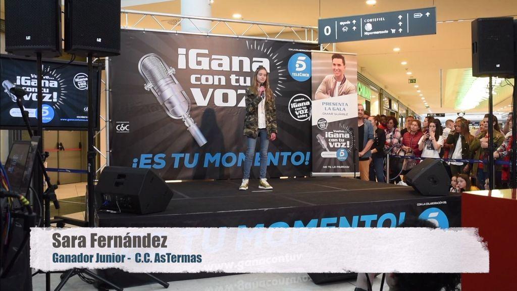 Sara Fernández conquista Lugo con su actuación junior