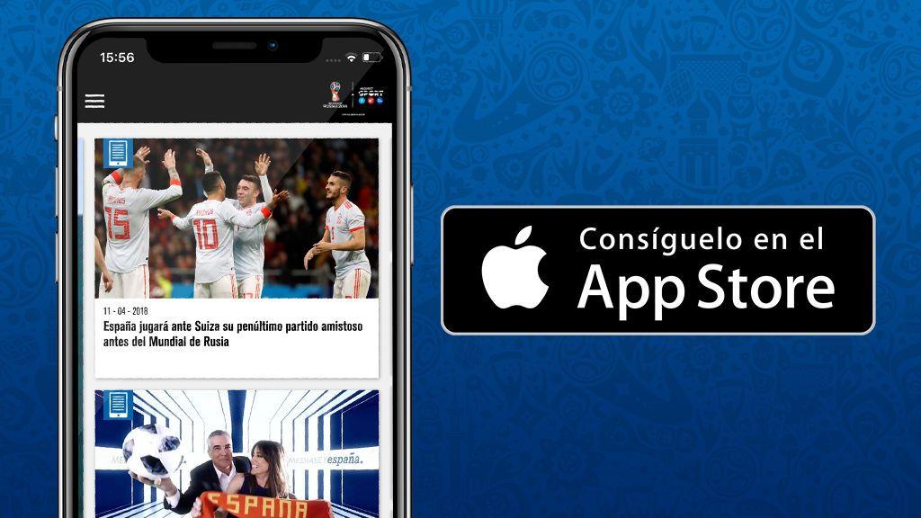 El Mundial de la FIFA de Rusia 2018 también se juega en la app Mediaset Sports - iOS