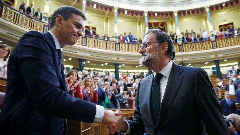 Feicitación de Rajoy a Sánchez