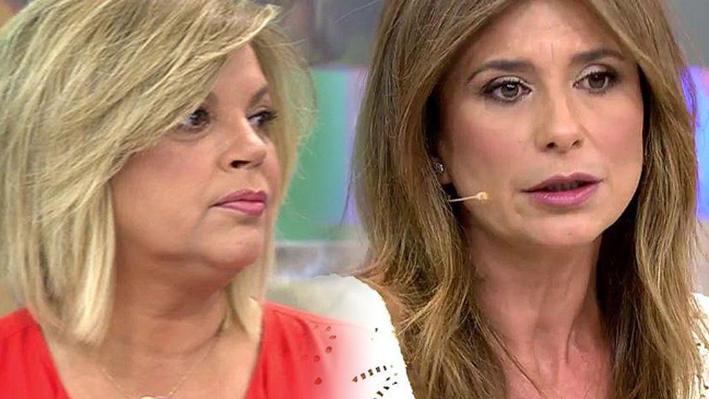 """Gema López: """"Hay otra Terelu que no es tan correcta detrás de la cámara, pero no digo que sea mala"""""""