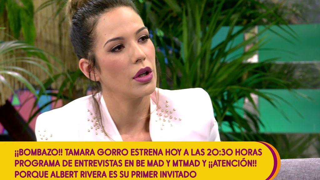 """Tamara Gorro: """"En mi nuevo programa, 'Un like para...', entrevistaré a deportistas, influencers..."""""""