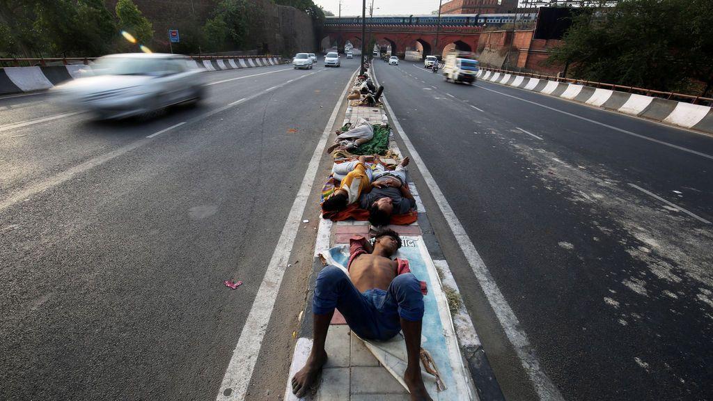 La India, azotada por la pobreza