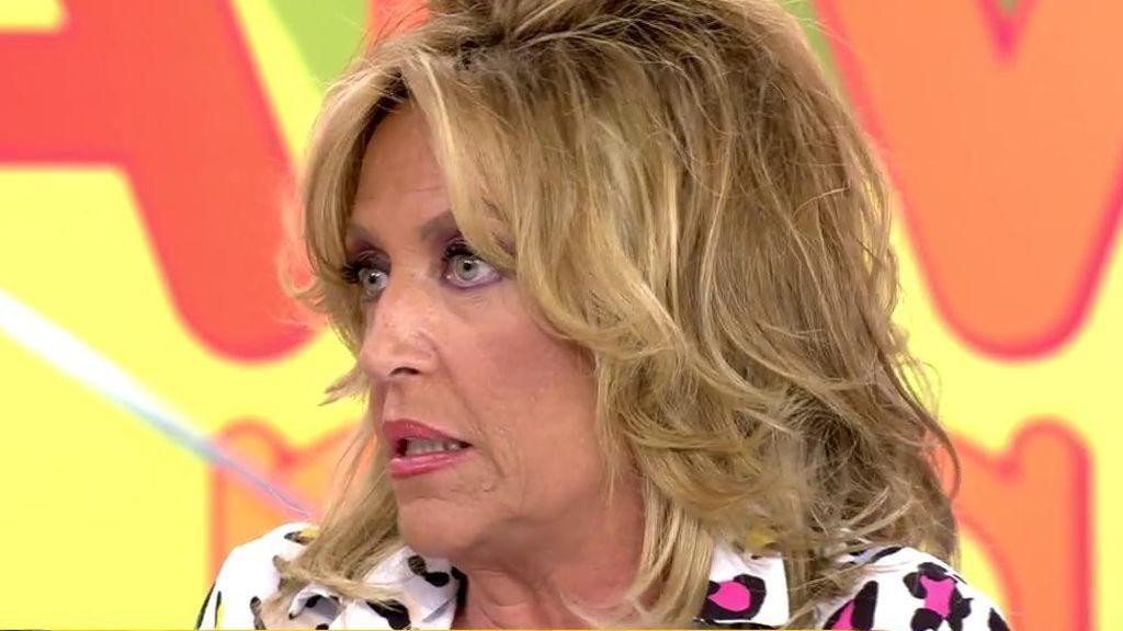 """Lydia Lozano desmiente haber dicho que era un horror trabajar con Terelu: """"No tuve ningún pollo con ella"""""""