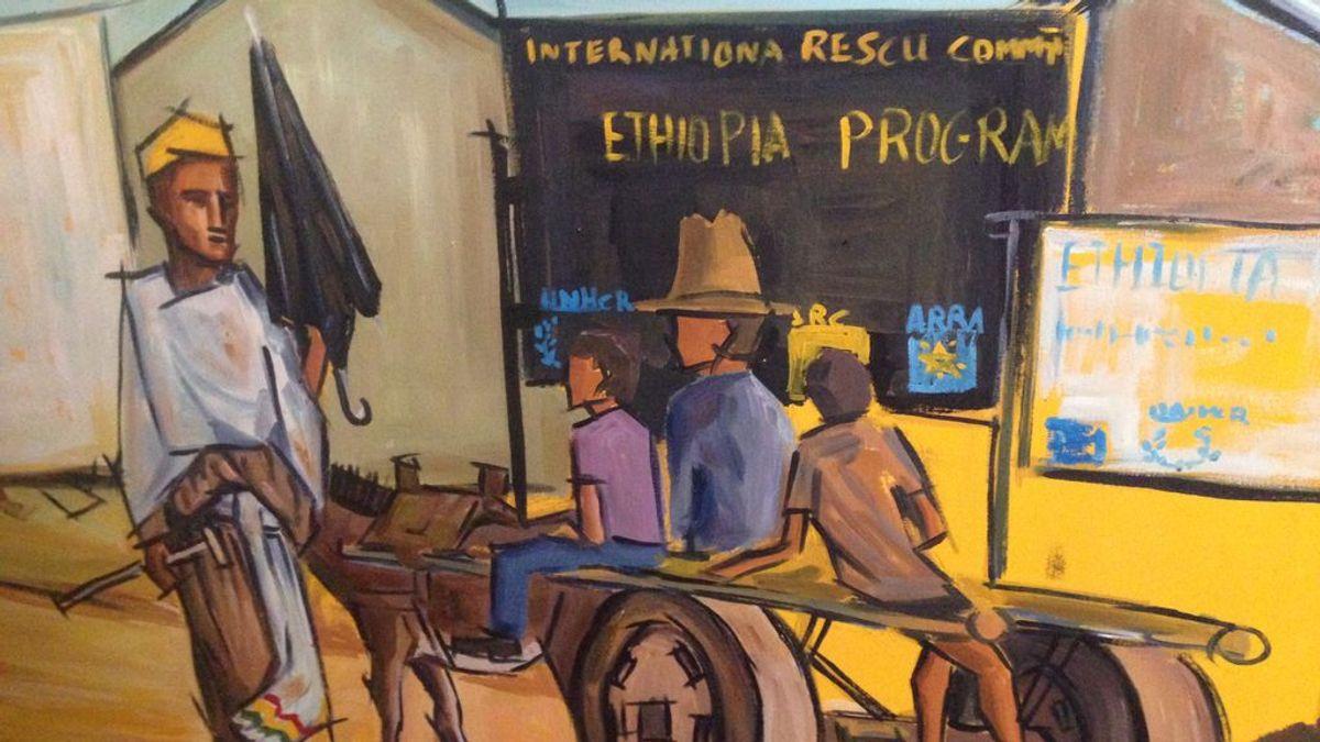 Etiopía, un refugio para los niños Eritreos