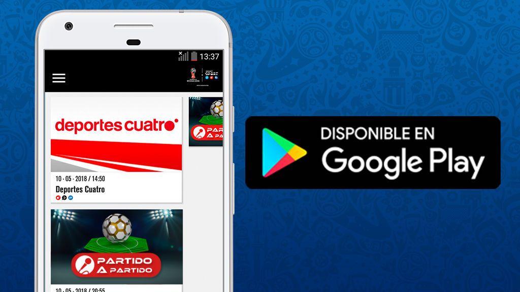 El Mundial de la FIFA de Rusia 2018 también se juega en la app Mediaset Sports - Android