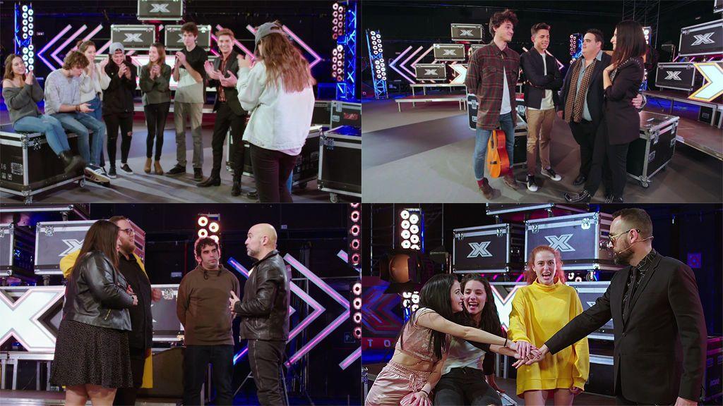 ¡Descubre, uno a uno, a los doce concursantes que lucharán por ganar 'Factor X'!