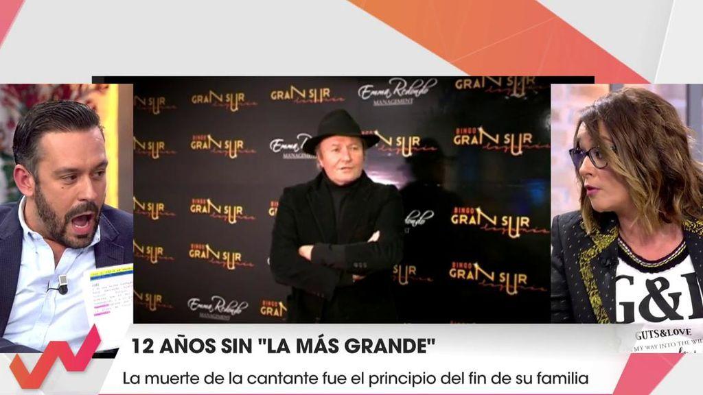 Toñi Moreno estalla y da la cara por Rosa Benito tras un ataque de Kike Calleja