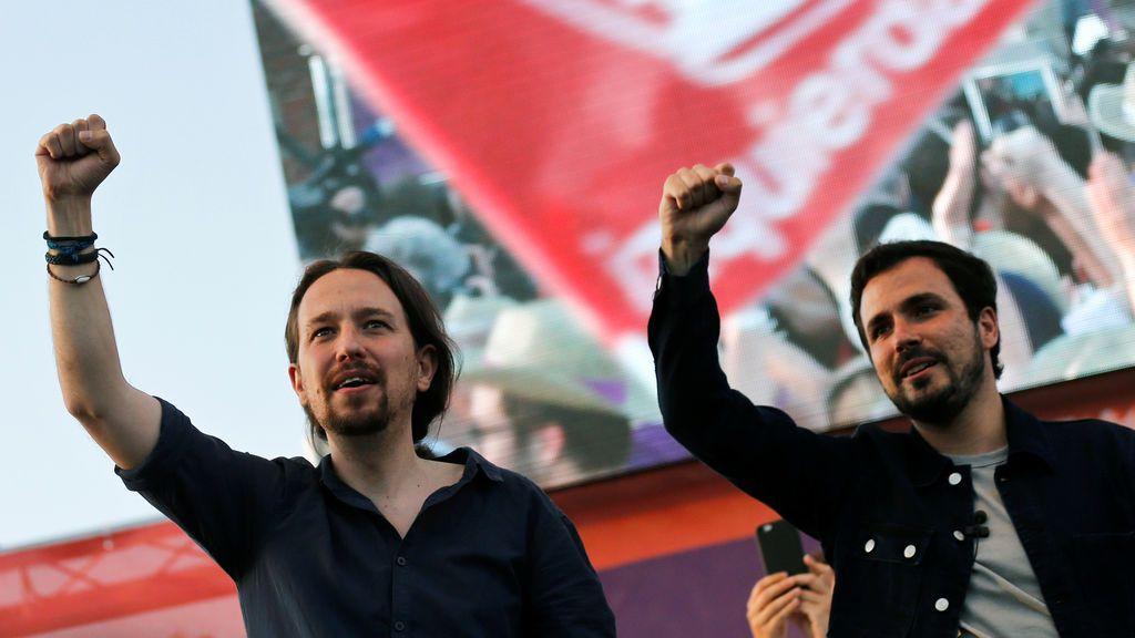 Podemos, IU y Equo, juntos a las elecciones de 2019