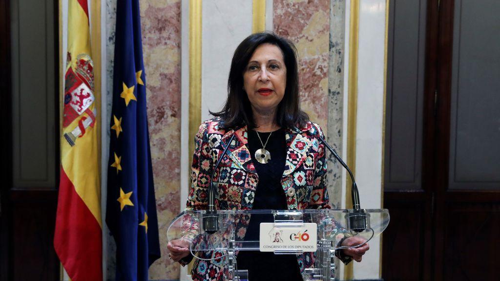Margarita Robles confirma que en el Gobierno de Sánchez no habrá ministros de Podemos
