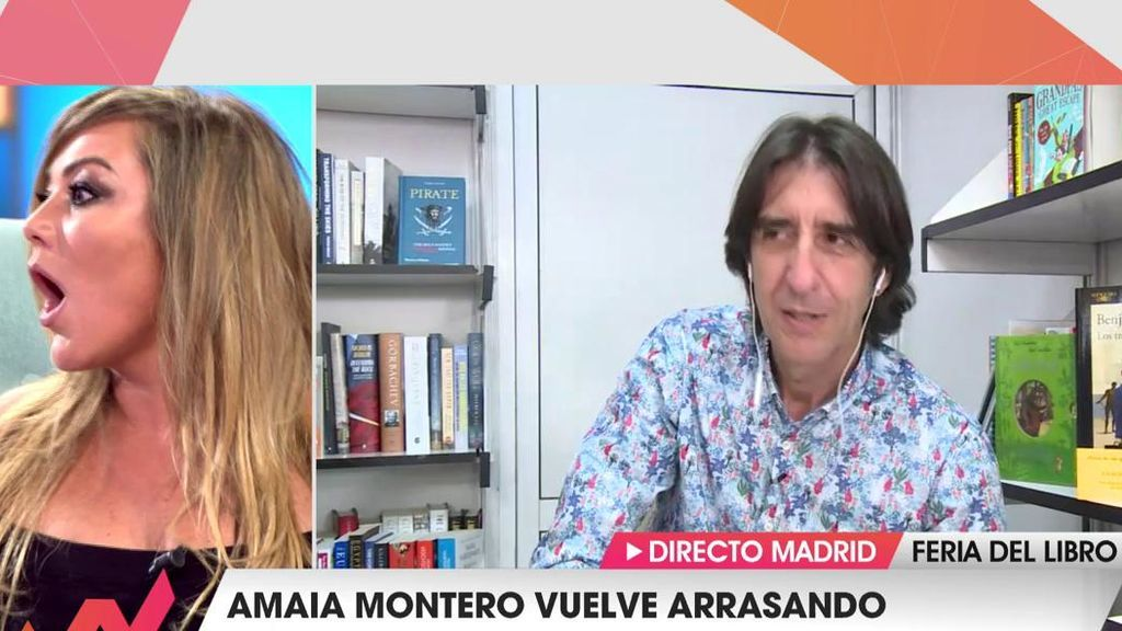"""Amaia Montero alucina con la sorpresa de 'Viva la vida': """"¡No me lo puedo creer!"""""""