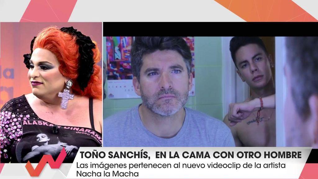Nacha la Macha explica por qué ha fichado a Toño Sanchís para su videoclip… ¡y gratis!