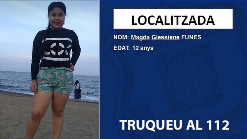 Encontrada la menor de 12 años desaparecida en Santa Coloma de Gramenet (Barcelona)