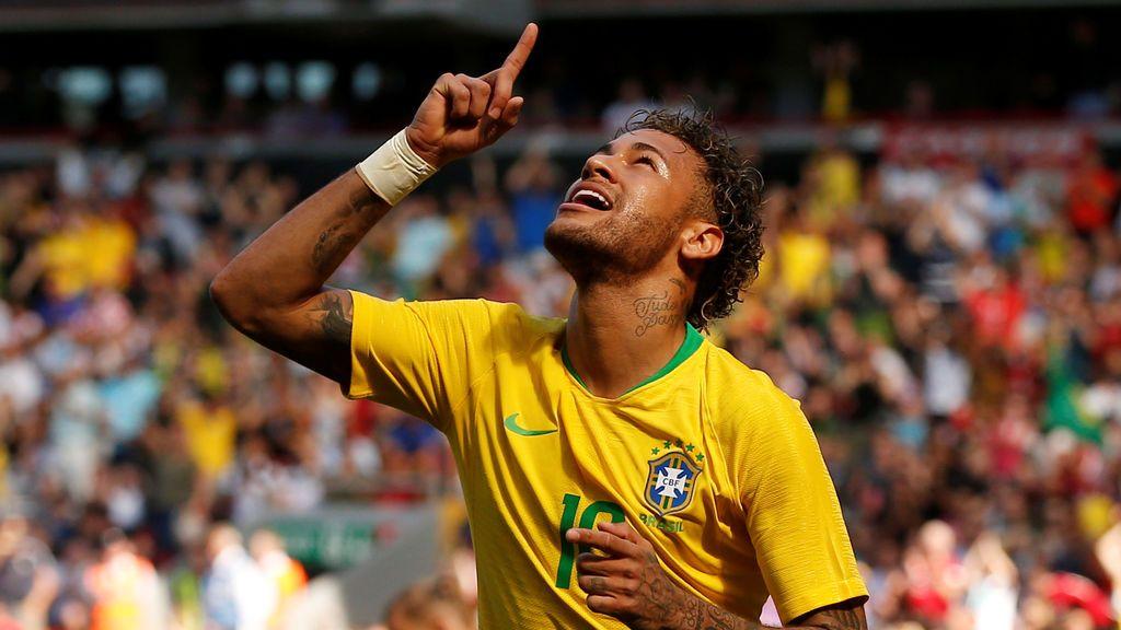 Neymar  vuelve por todo lo alto: golazo y victoria ante Croacia