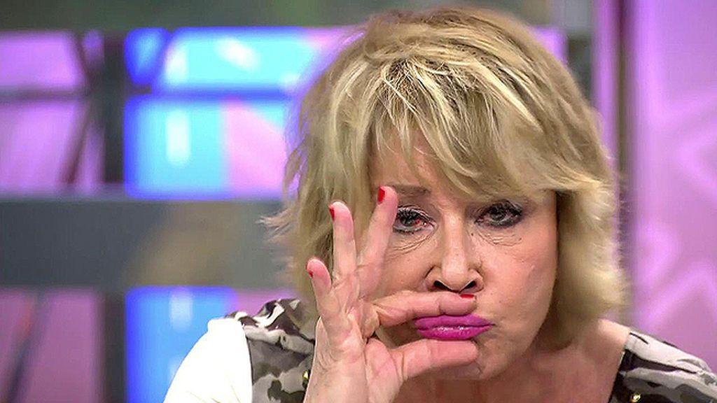 """Mila Ximénez, contra Bibiana Fernández: """"Por lo menos de mí no se dice que he sido la peor concursante de 'Supervivientes"""""""