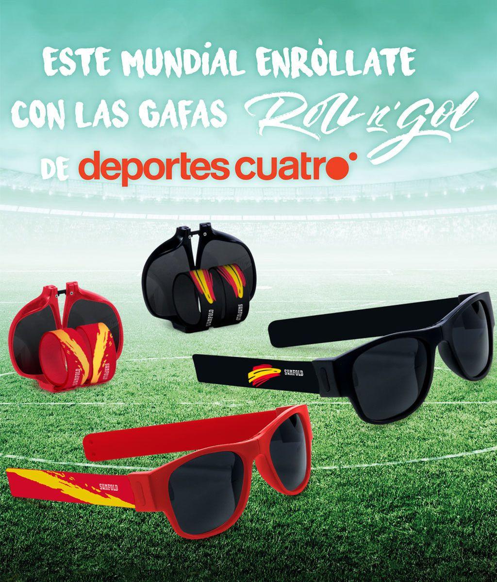 Triunfa con  nuevas gafas enrollables Roll n´Gol ¡Ya a la venta!
