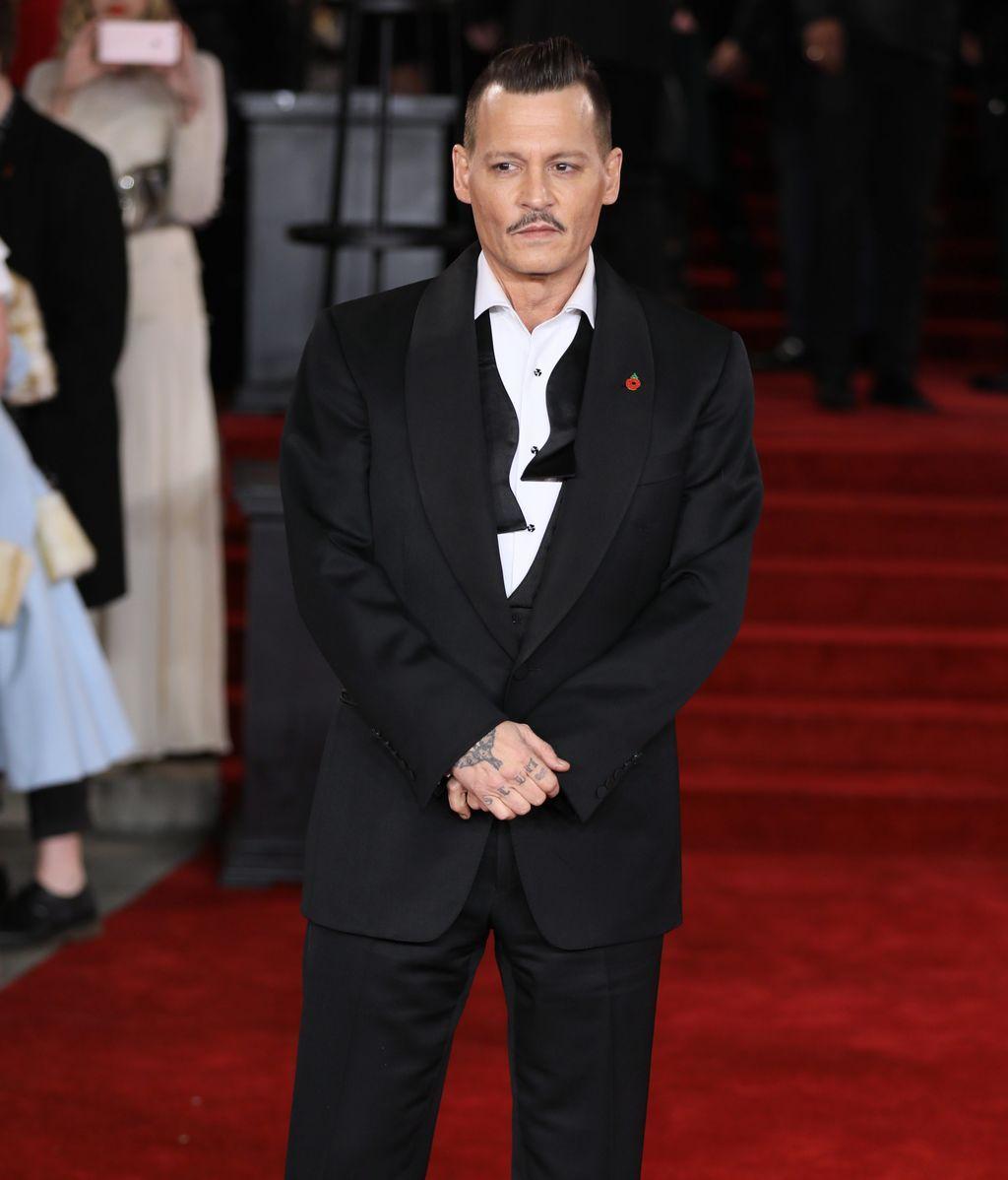 Johny Depp Premire Orient Express