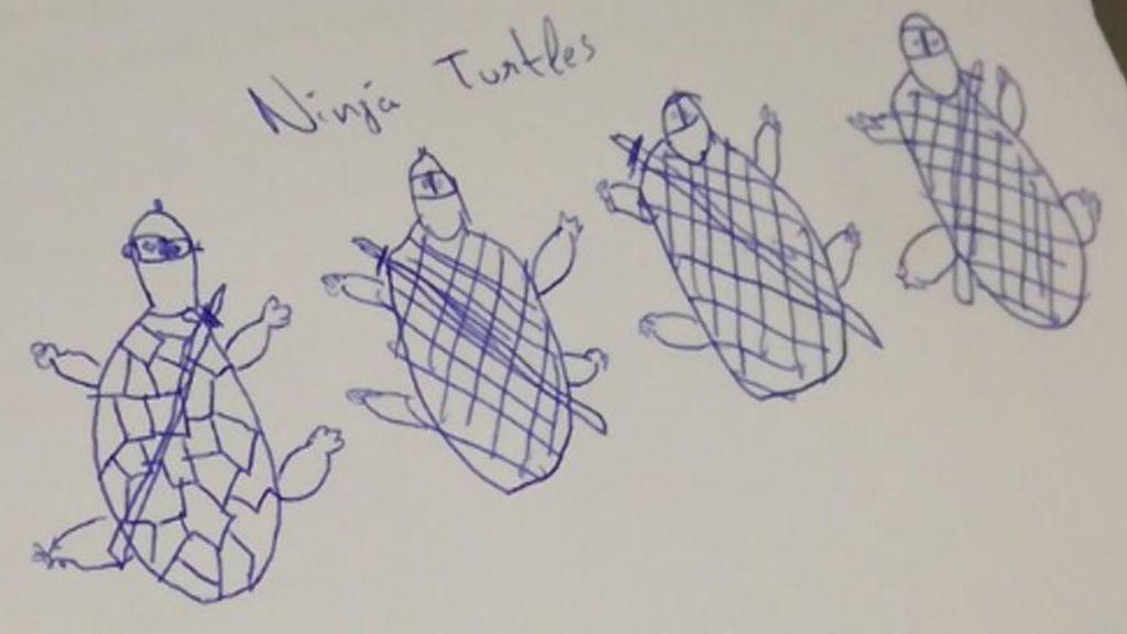 Pidió a sus alumnos que dibujasen una tortuga... y estos fueron los resultados