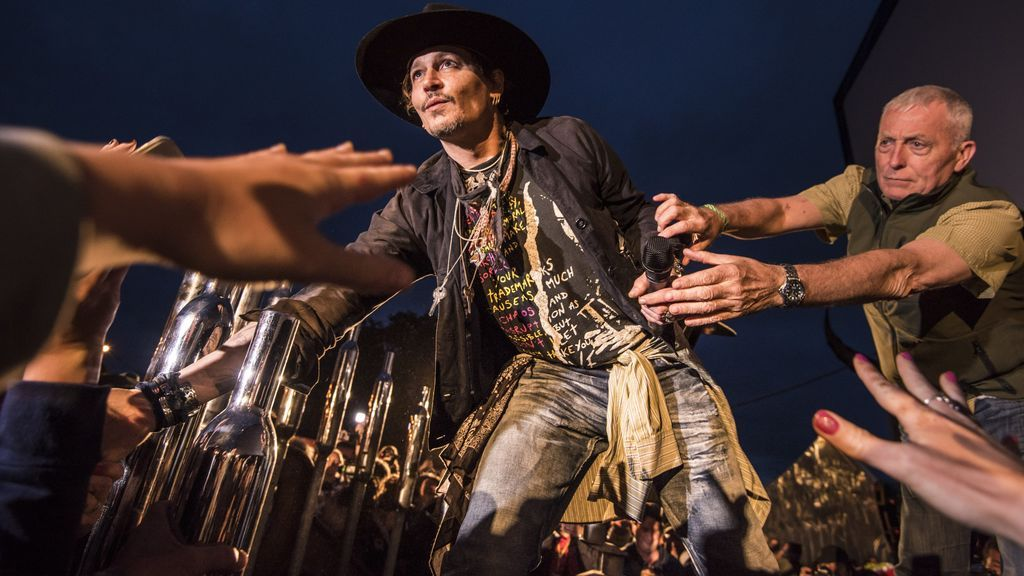 Johnny Depp Glastonbury Festival