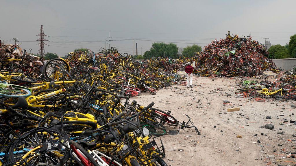 Vertedero de bicicletas