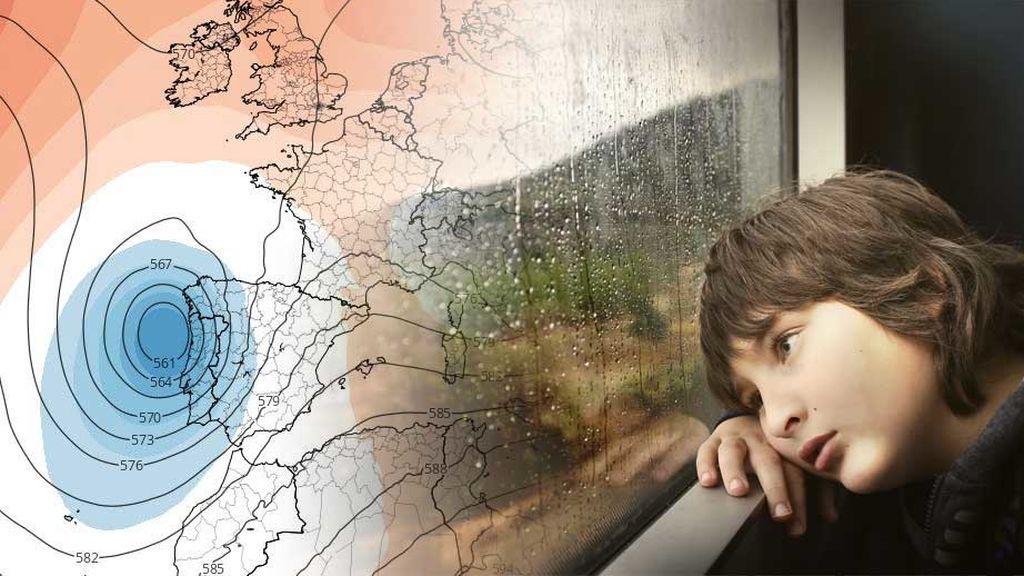 La lluvia que no tiene fin: el viernes, otra borrasca traerá más tormentas a nuestro país