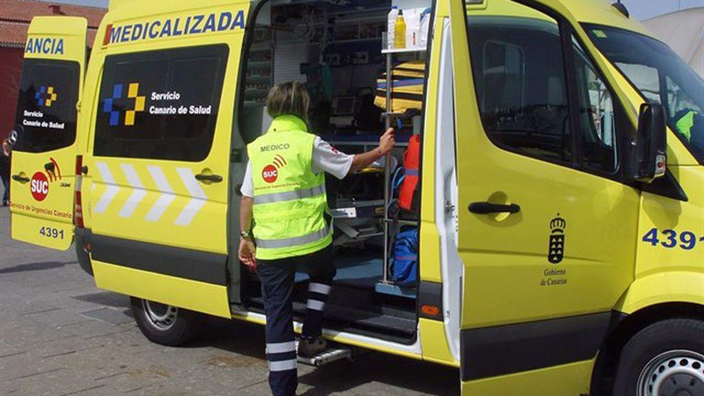 Herido grave un niño de dos años tras caerse de un cuarto piso de Las Palmas de Gran Canaria