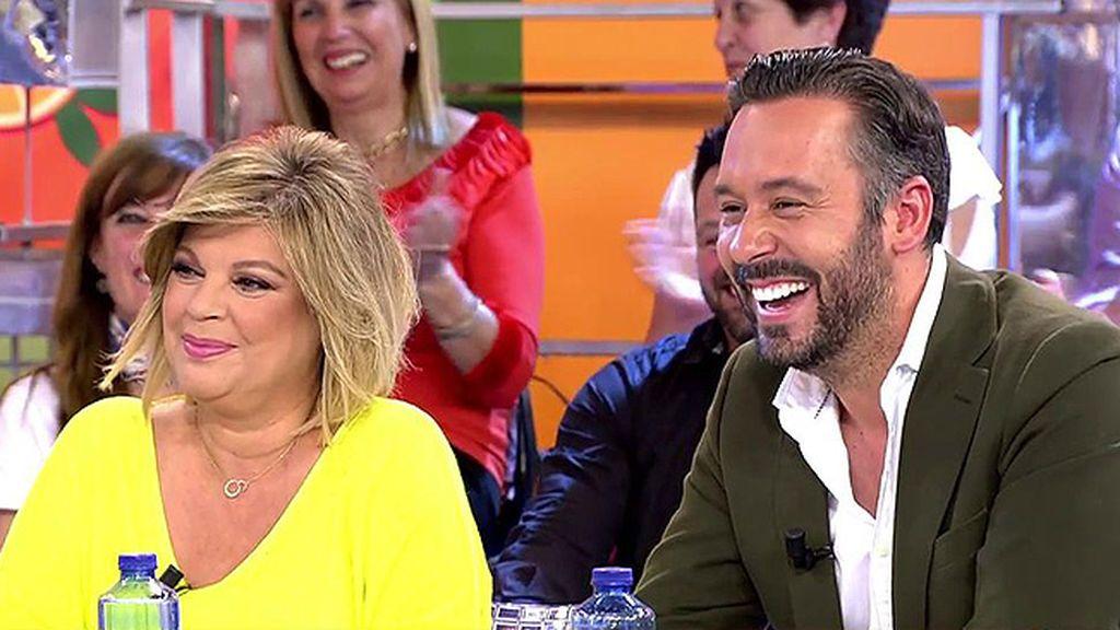 """El momento incómodo de Terelu y Kike Calleja por la 'sugerencia' de Hernánez: """"Hacéis una pareja preciosa"""""""