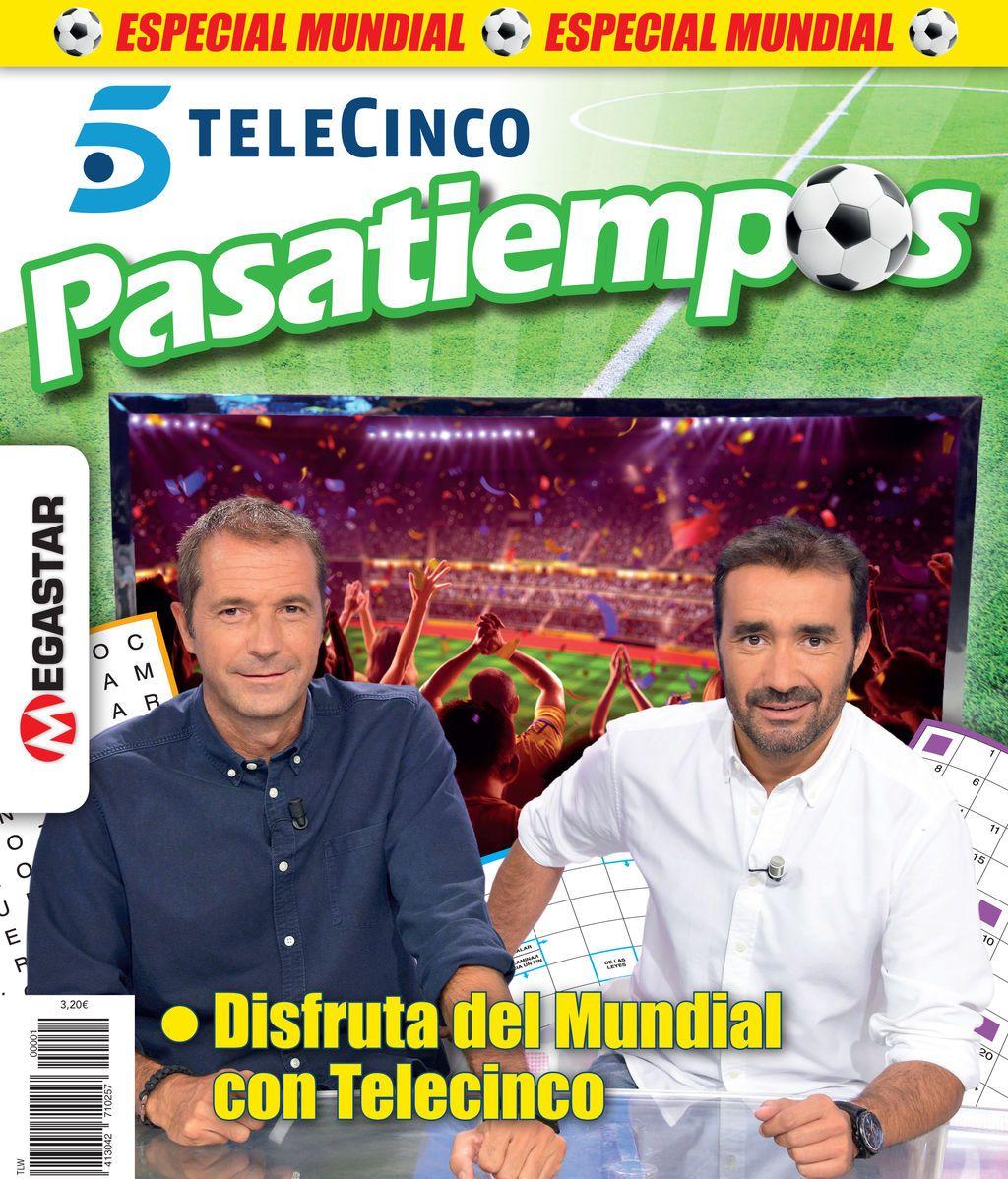 Ya puedes disfrutar del nuevo ejemplar de Telecinco Pasatiempos Especial Mundial!