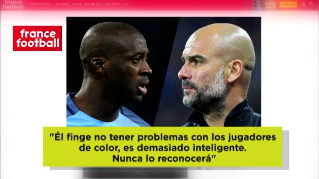 Yayá Touré disparó contra Guardiola: