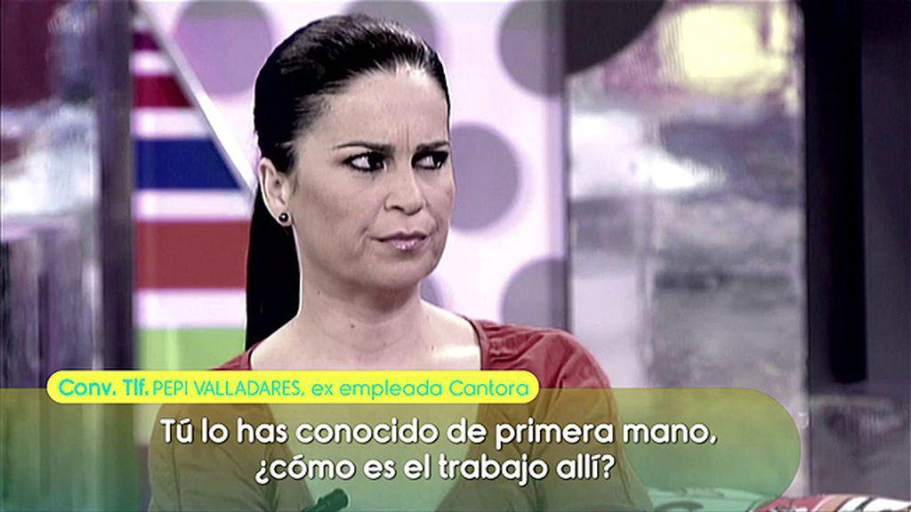 """Pepi Valladares, sobre el trabajo en Cantora: """"Los querían  que no entendieran español"""""""
