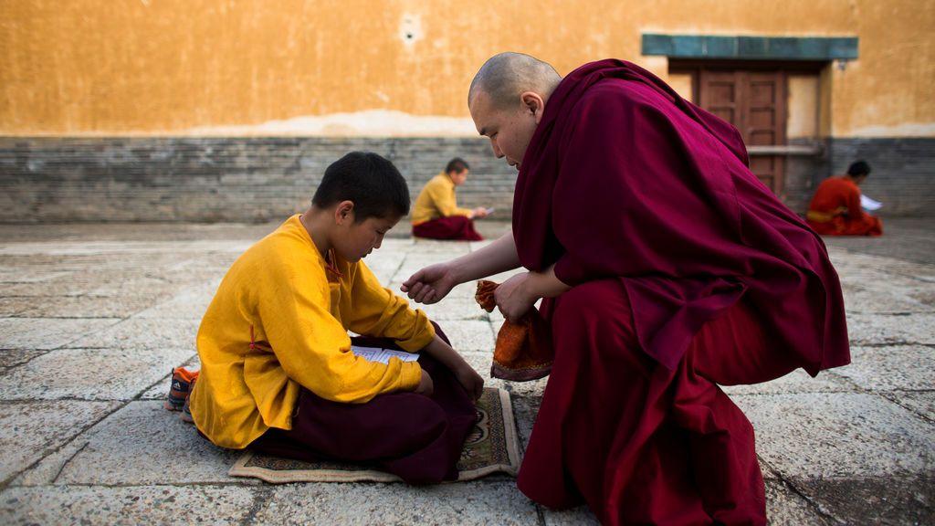 Ceremonia budista  en Mongolia