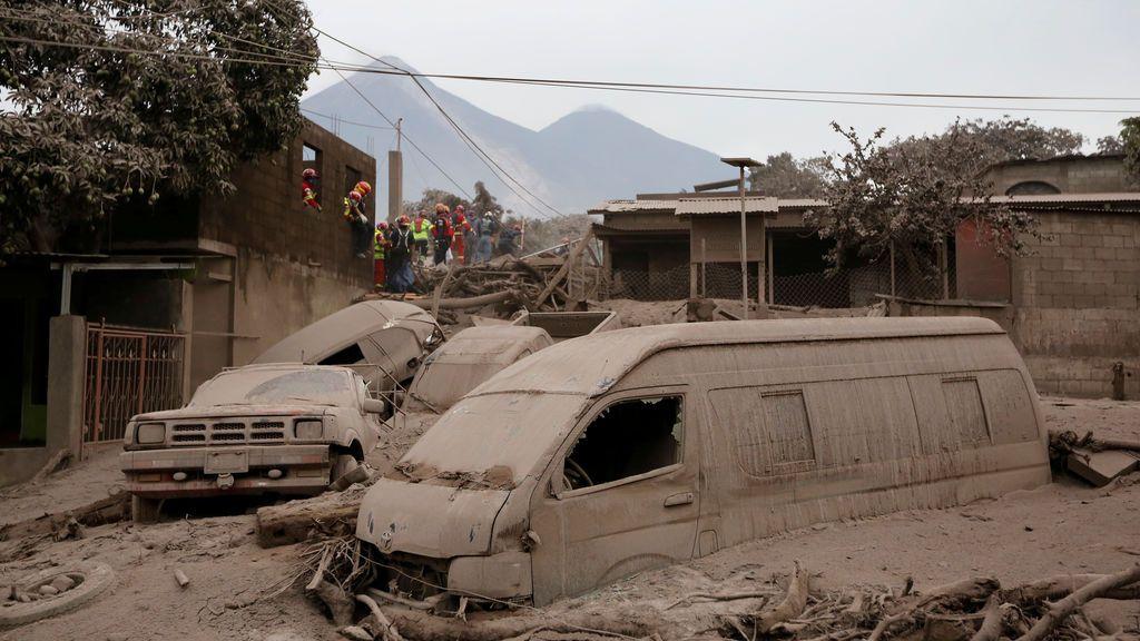 El volcán Fuego deja 69 víctimas en Guatemala