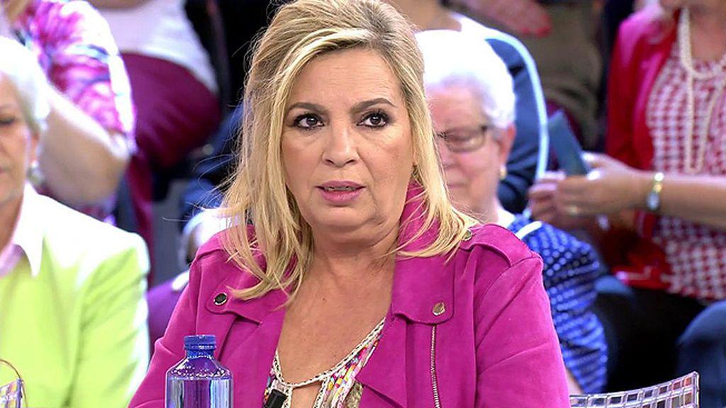 """El zasca de Carmen Borrego contra Alonso Caparrós: """"Yo podía decir eso de valgo más por lo que callo"""""""
