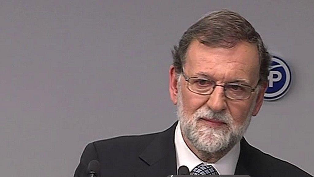 La emoción del adiós de Mariano Rajoy, en fotos