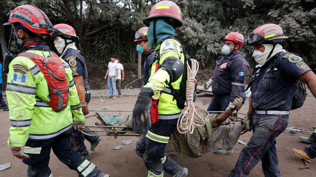 Más de 70 muertos por la erupción del Volcán de Fuego en Guatemala