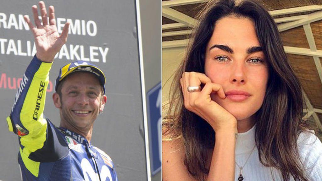 El beso de Valentino Rossi que enamora a Italia: así le felicitó Francesca, su nueva novia