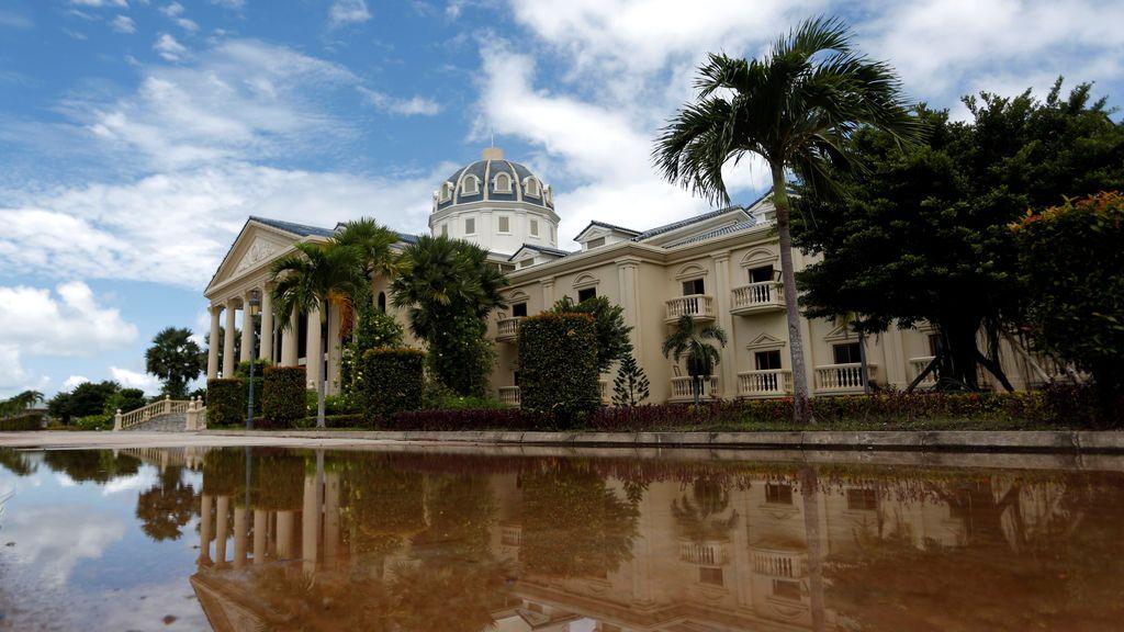 Antiguo casino de Camboya